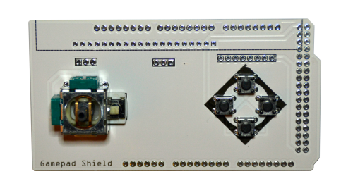 Gamepad Shield PCB